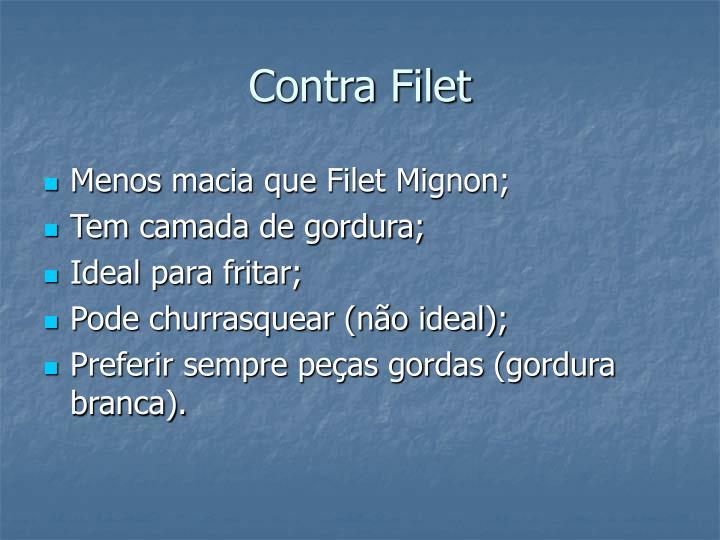 Contra Filet