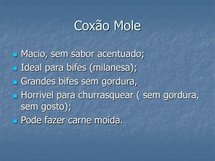 Coxão Mole