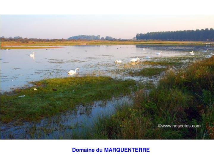 Domaine du MARQUENTERRE