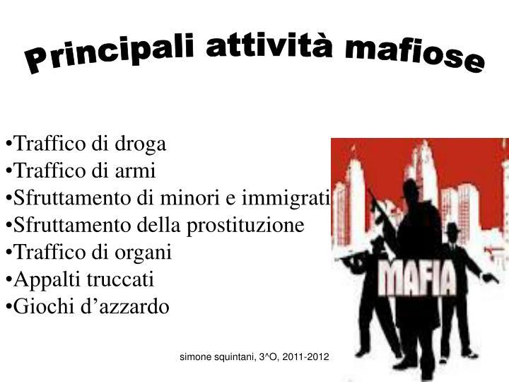 Ppt in italia ci sono diversi tipi di mafia in sicilia la mafia locale si chiama cosa nostra - I diversi tipi di droga ...