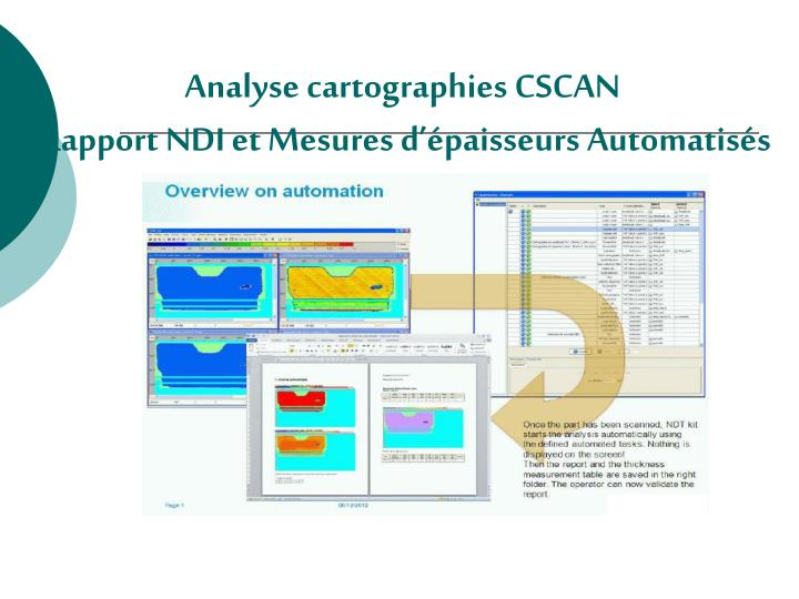 Analyse cartographies CSCAN