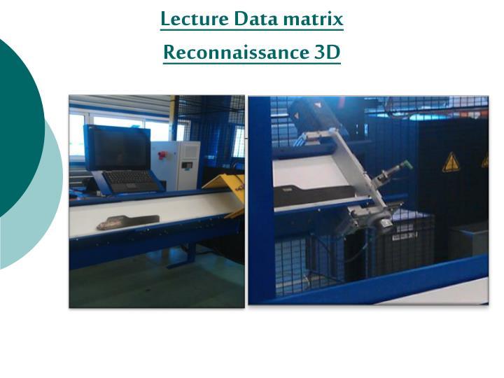 Lecture Data matrix