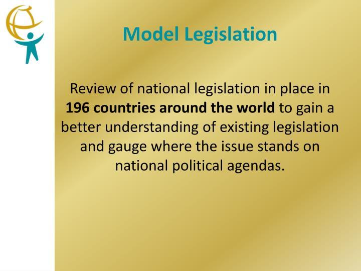 Model Legislation