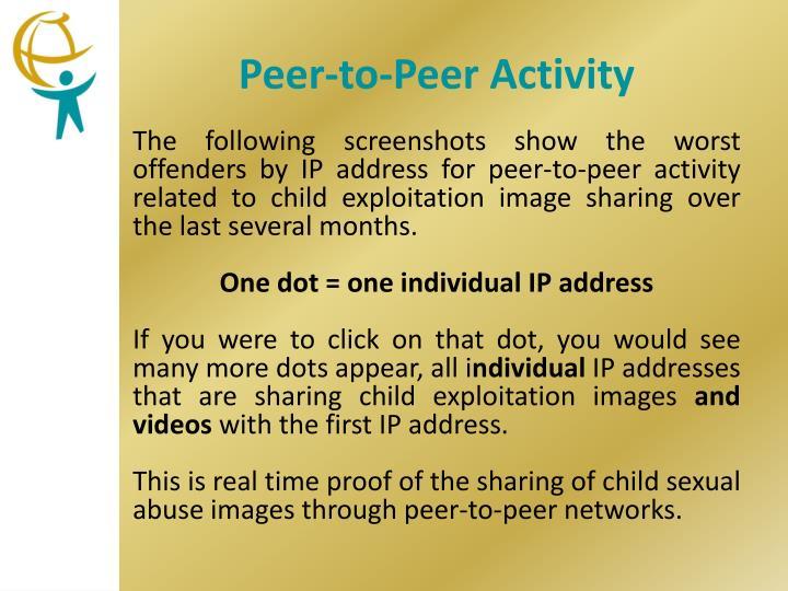 Peer-to-Peer Activity