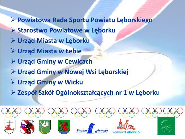 Powiatowa Rada Sportu Powiatu Lęborskiego
