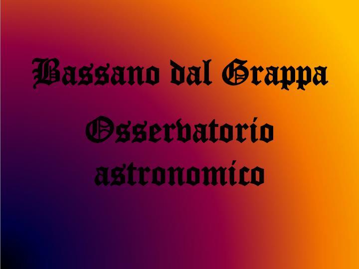 Bassano dal Grappa