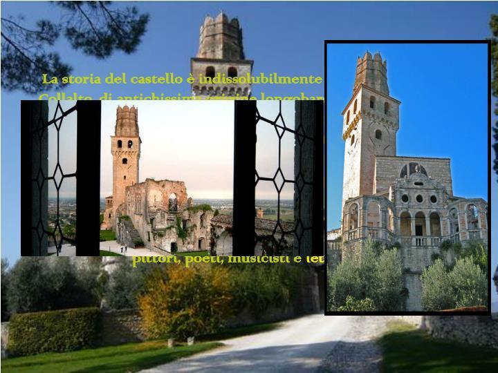 La storia del castello è indissolubilmente legata alla famiglia Collalto, di antichissima origine longobarda, che da Treviso si stabilisce qui tra il XII e il XIII secolo fondando i castelli di Collalto e di San