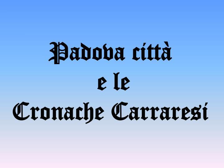 Padova città