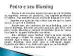pedro e seu bluedog