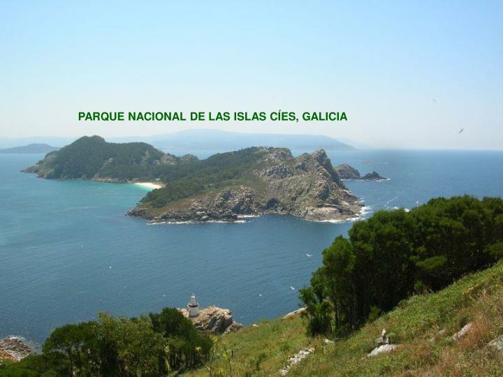 PARQUE NACIONAL DE LAS ISLAS CÍES, GALICIA