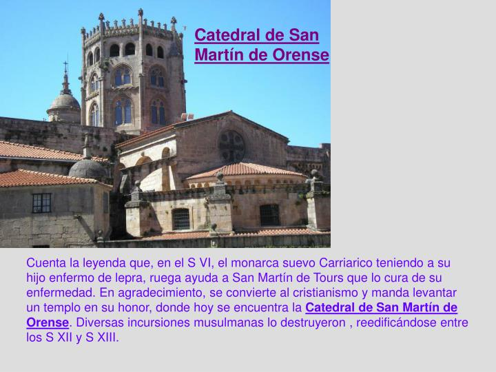 Catedral de San Martín de Orense