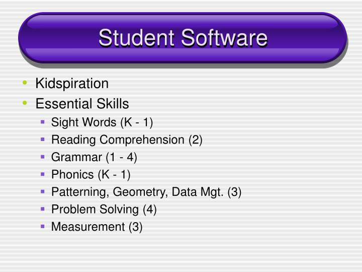 Student Software