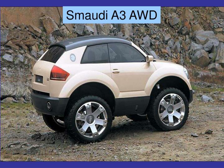 Smaudi A3 AWD