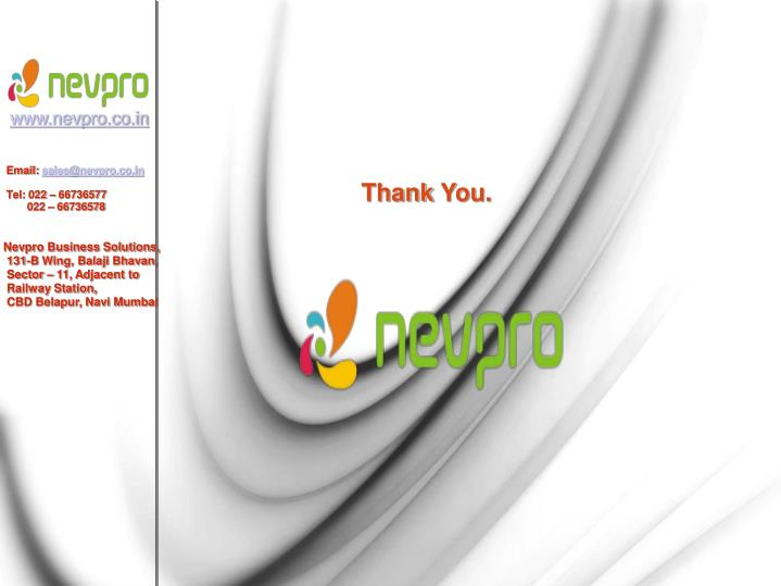 www.nevpro.co.in