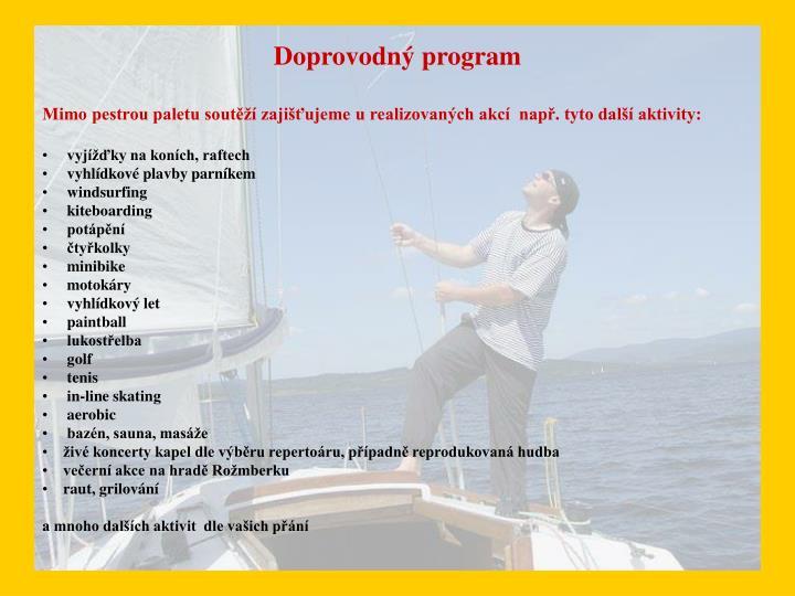 Doprovodný program