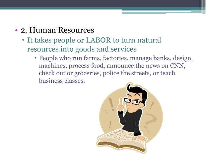 2. Human Resources