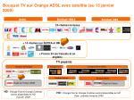 bouquet tv sur orange adsl avec satellite au 15 janvier 2009