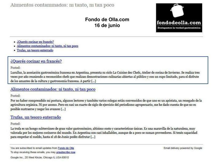 Fondo de Olla.com