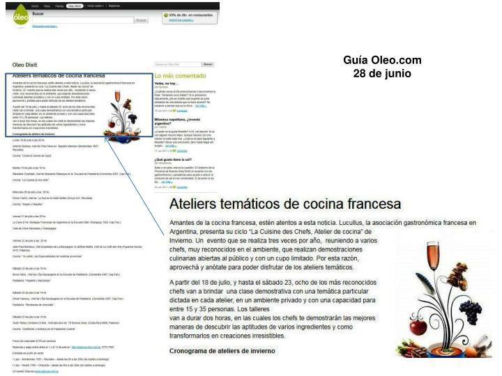 Guía Oleo.com