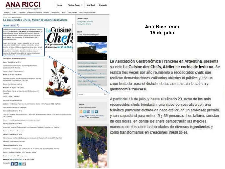 Ana Ricci.com