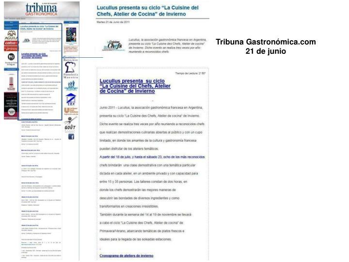 Tribuna Gastronómica.com