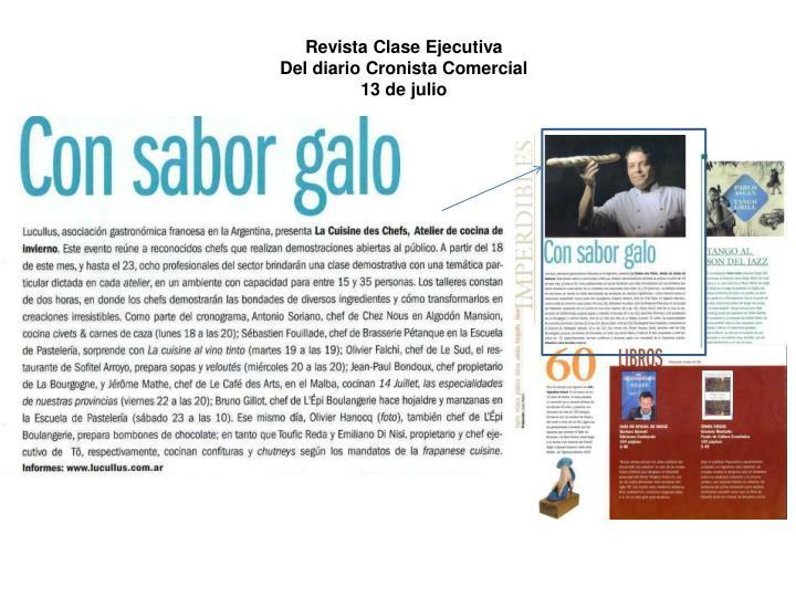 Revista Clase Ejecutiva