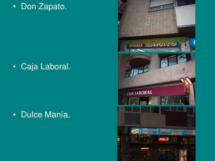 Don Zapato.