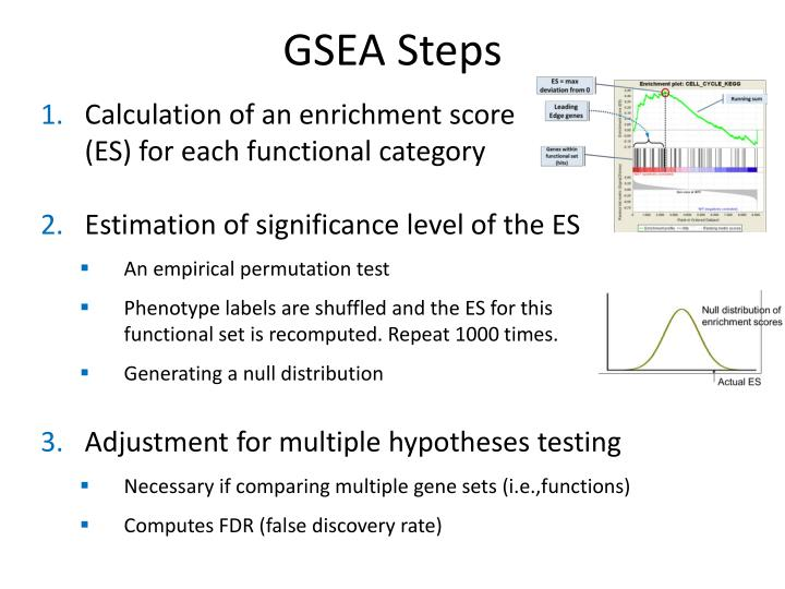GSEA Steps