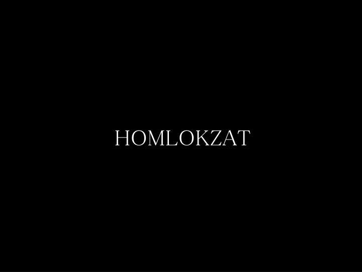 HOMLOKZAT