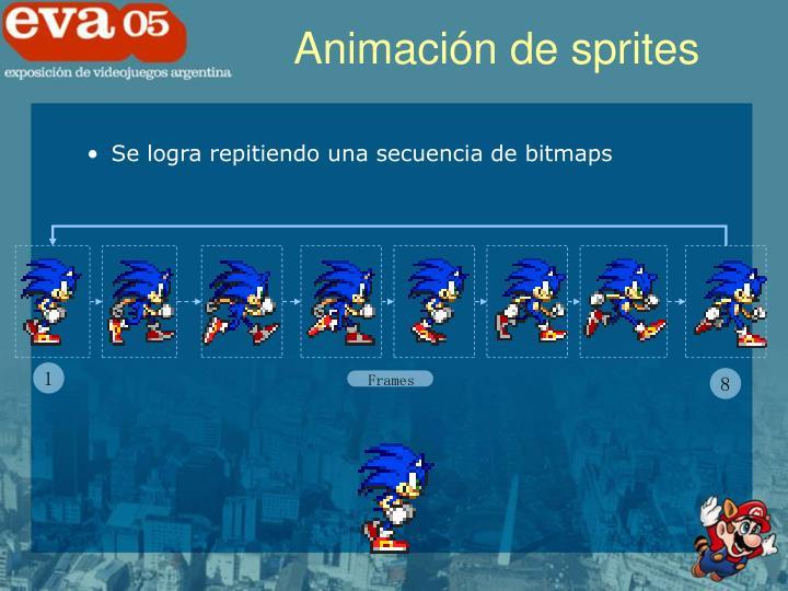 Animación de sprites