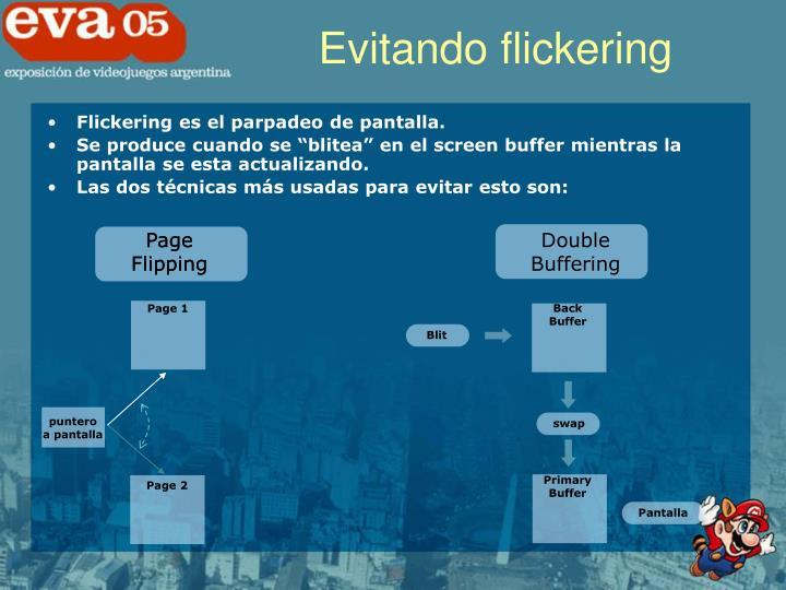 Evitando flickering