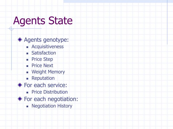 Agents State