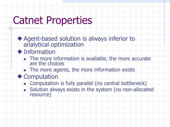 Catnet Properties