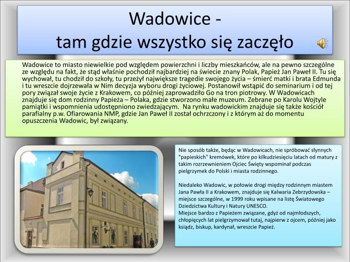 Wadowice -