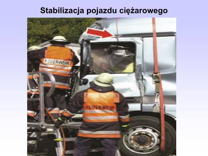 Stabilizacja pojazdu ciężarowego