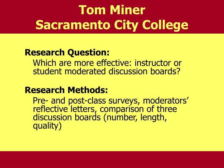 Tom Miner