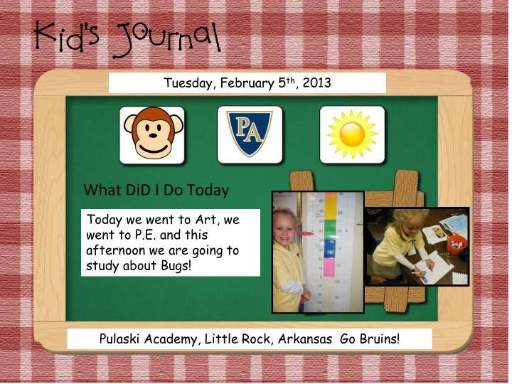 Tuesday, February 5