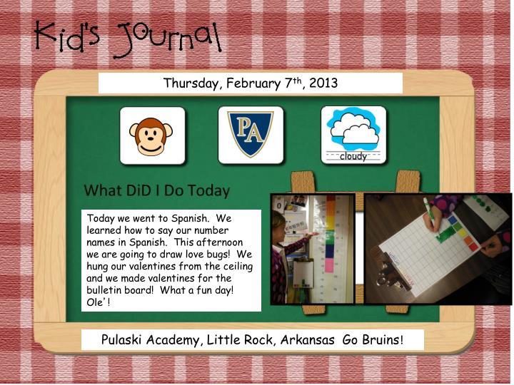 Thursday, February 7