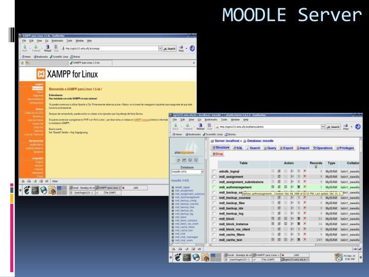 MOODLE Server