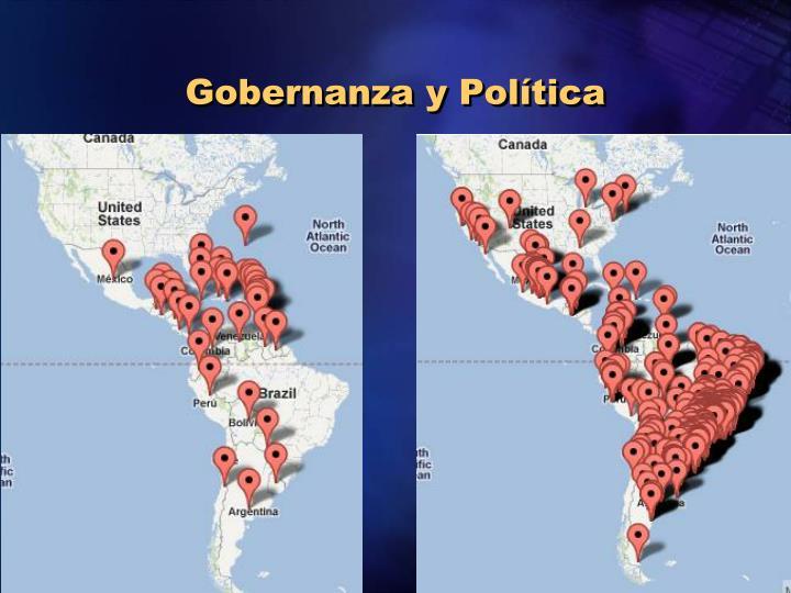 Gobernanza y Política