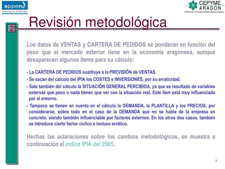 Revisión metodológica