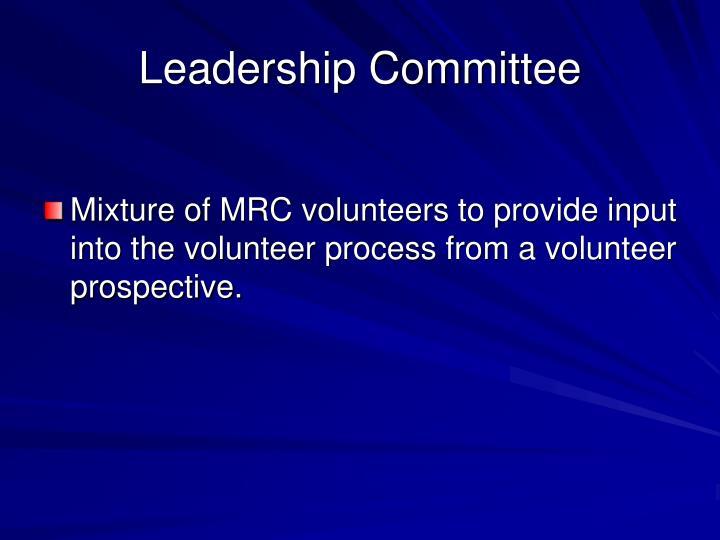 Leadership Committee