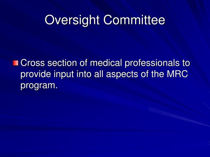 Oversight Committee