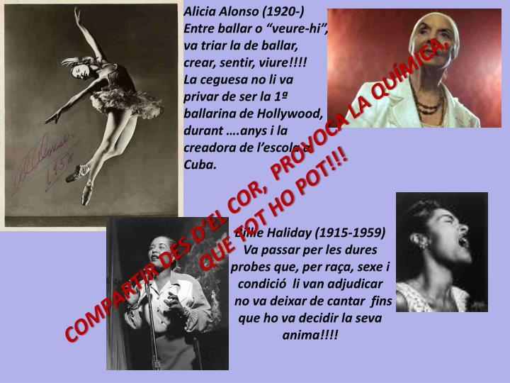 Alicia Alonso (1920-)