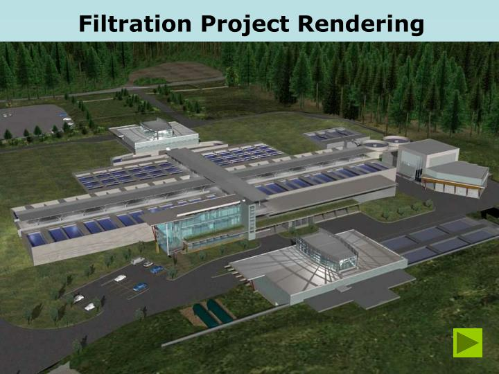 Filtration Project Rendering