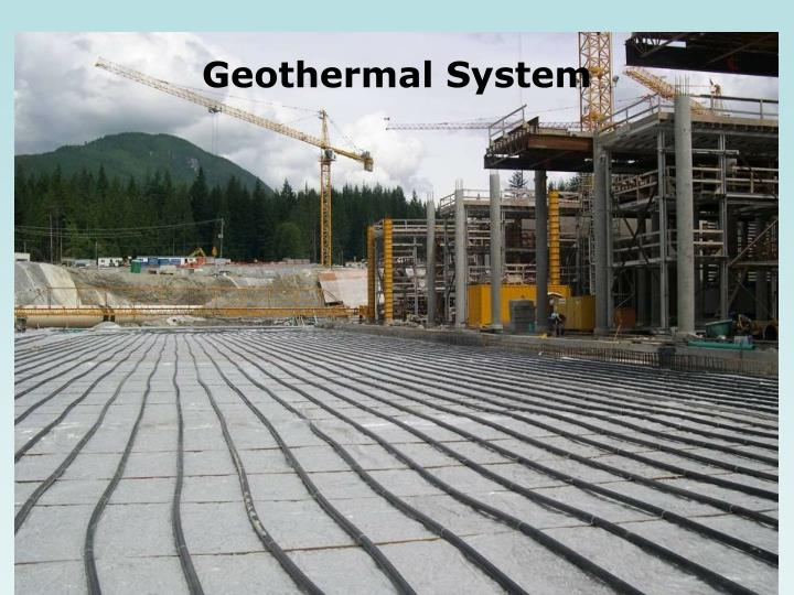 Geothermal System