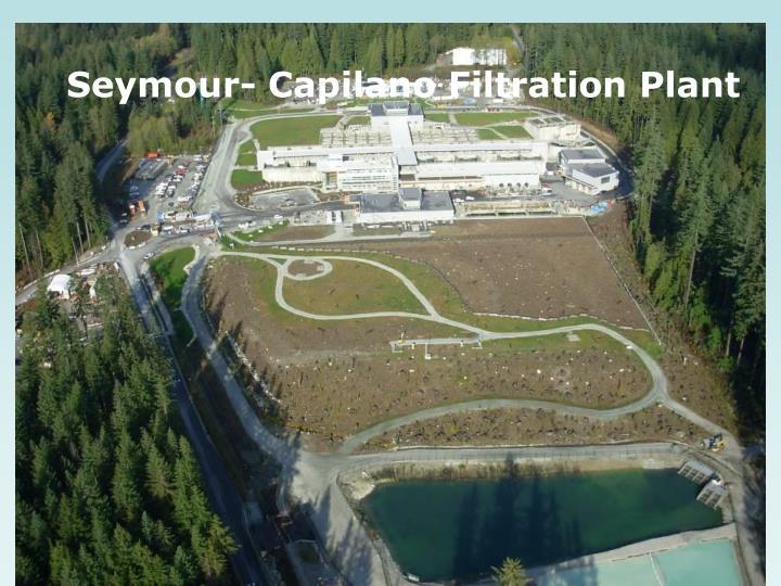 Seymour- Capilano Filtration Plant