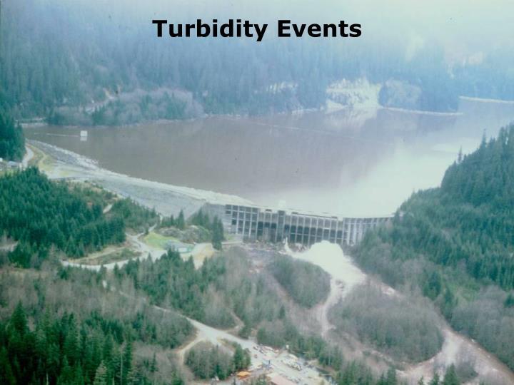 Turbidity Events