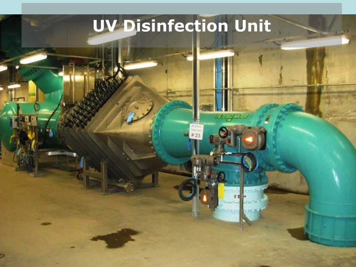 UV Disinfection Unit