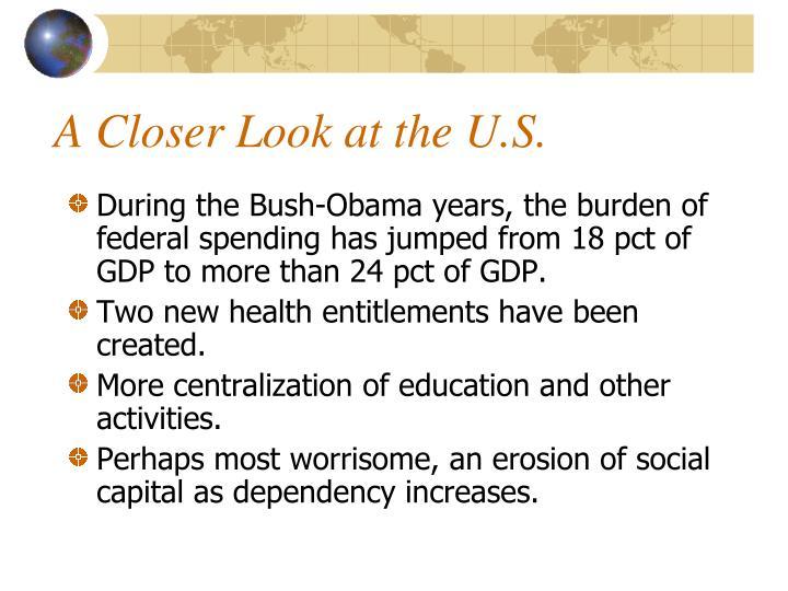 A Closer Look at the U.S.